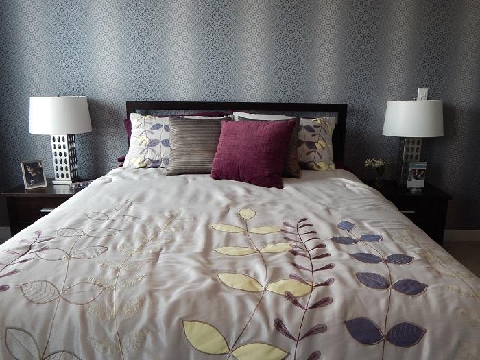 Obliečky na postel s kvetmi
